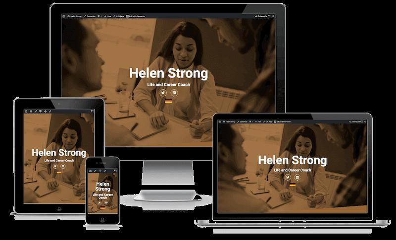 Helen Strong Website