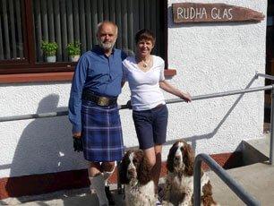 Rudi, Helen & Dogs